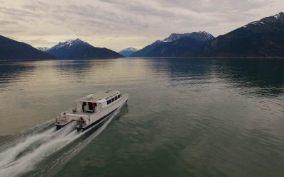 "Ride the Fjord Express to Juneau. Experience the ""ALASK Ahhhhh"" you came for."