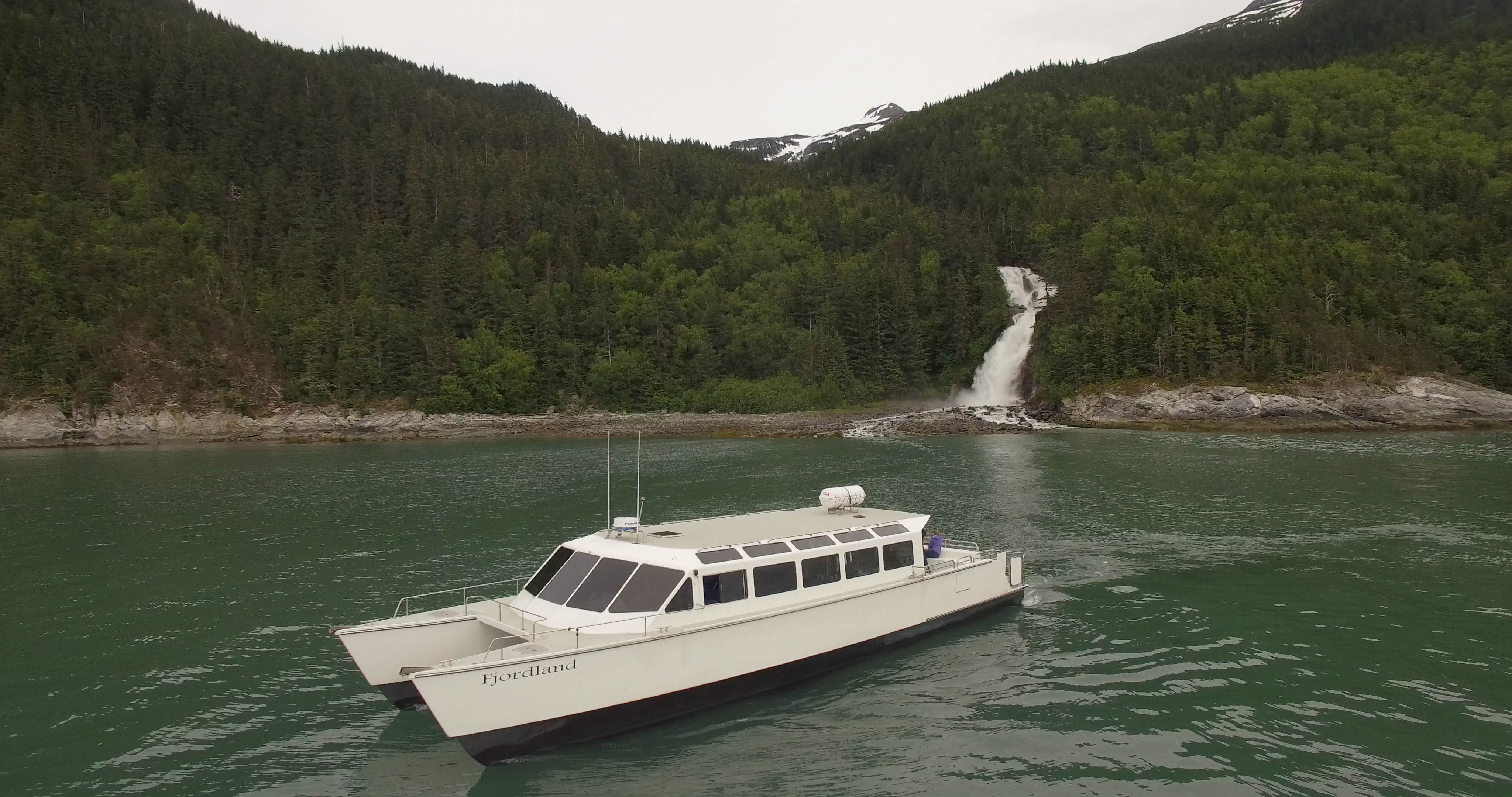 Boat and Crew - Fjord Express to Juneau - 1-800-320-0146