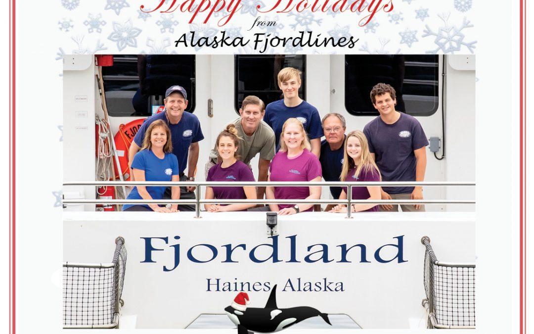 Happy Holidays from Alaska Fjordlines!